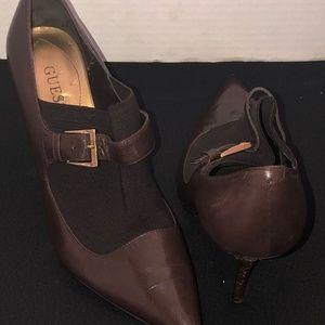 Guess Chocolate Brown Heels